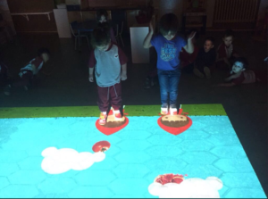suelo interactivo
