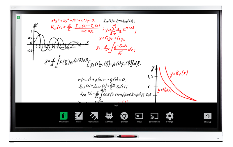 Pantalla Interactiva SMART Board IQ Serie 6000 - Trilogic Education
