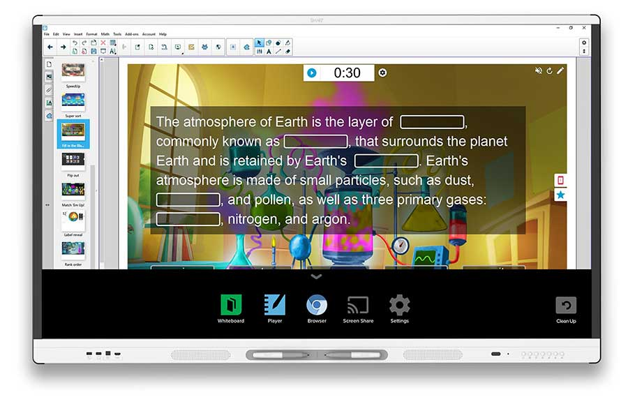 Pantalla Interactiva Económica SMART Board MX